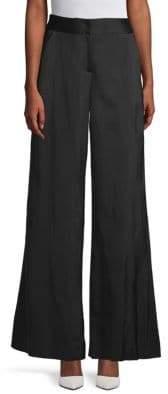 Oscar de la Renta High-Rise Wide-Leg Pants