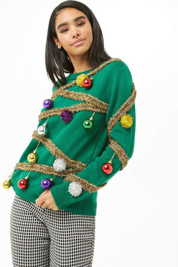 Forever 21 Christmas Tree Sweater