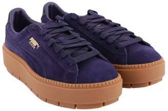 "Puma Platform Tracebold"" Suede Sneakers"""