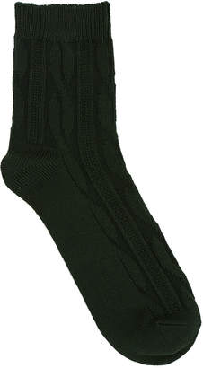 Tabio Solid Textured Sock