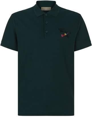 Burberry Triple Logo Polo Shirt