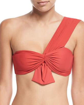 Marysia Swim Venice One-Shoulder Swim Top