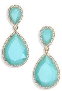 ABS by Allen Schwartz Faceted Drop Earrings