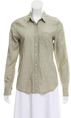 Steven Alan Patterned Button-Up Top
