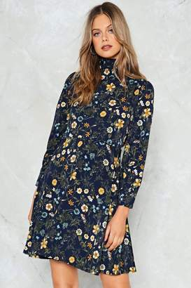 Nasty Gal Field of Opportunity Floral Dress
