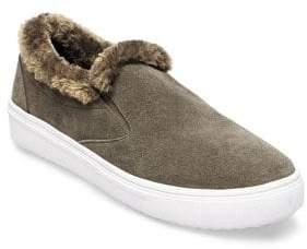 Cuddles Faux Fur Suede Sneakers