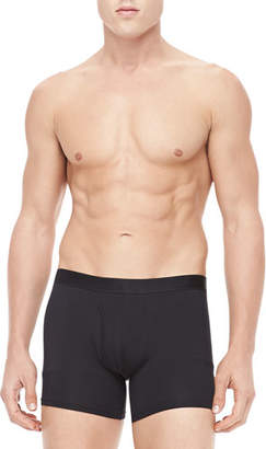 Derek Rose Jack Pima Cotton Stretch Trunks, Black