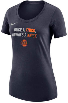 Nike Women's New York Knicks City Edition Scoop T-Shirt