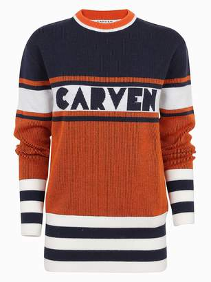 Carven Logo Sweater