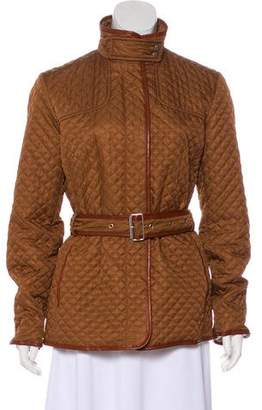 Burberry Long Sleeve Quilted Jacket