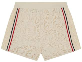 Ermanno Scervino Stripe Lace Shorts
