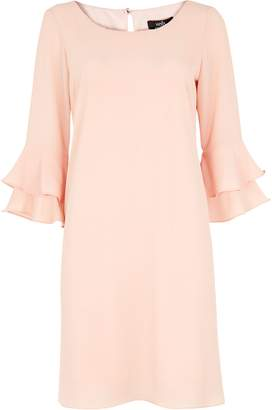 WallisWallis Blush Flute Sleeved Shift Dress