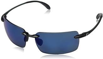 Costa del Mar Unisex-Adult Cayan AY 50 OBMP Polarized Iridium Rimless Sunglasses
