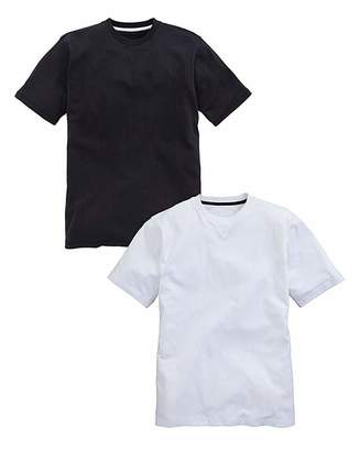 Jacamo Capsule Pack of Two T-Shirts