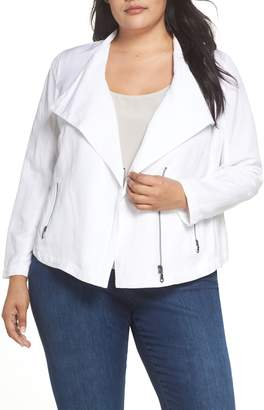 Nic+Zoe Sundown Moto Jacket