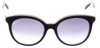 Gucci Cat-Eye GG Sunglasses