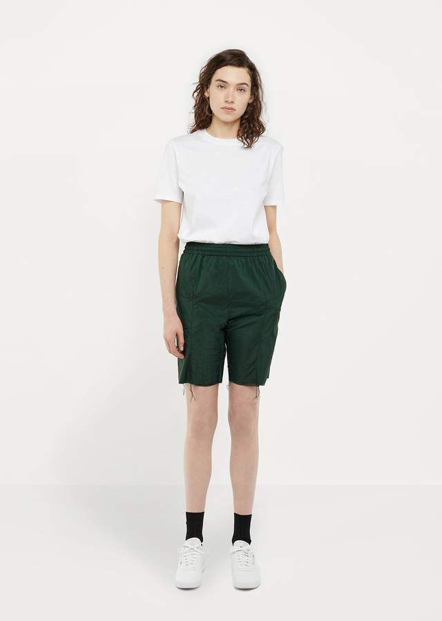 Vetements X Reebok Track Shorts Green Size: Small