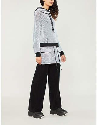Zoe Jordan Aste cotton-jersey hoody