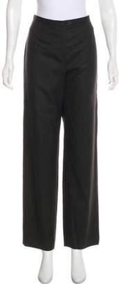Giorgio Armani High-Rise Wool Pants