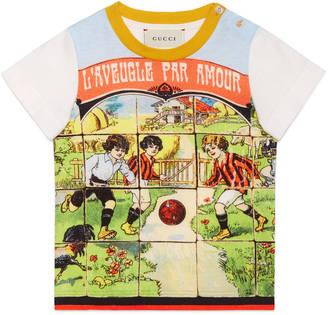 Baby vintage print cotton t-shirt $160 thestylecure.com