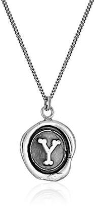 "Pyrrha talisman"" Sterling Letter G Necklace"