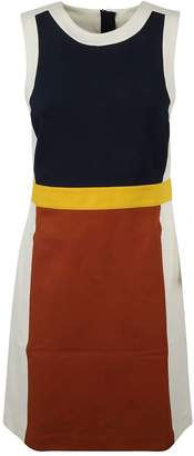 Tory Burch Colourblock Sleeveless Dress
