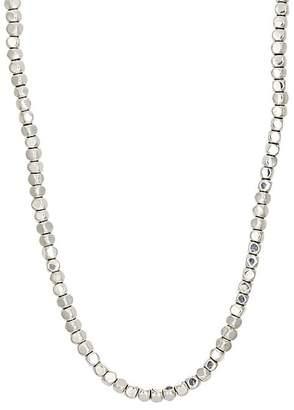 Suzanne Felsen Men's Sterling Silver Beaded Necklace