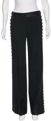 Chloé Mid-Rise Wide-Leg Pants