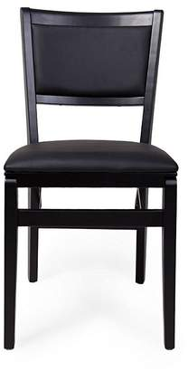 Harmony Dining Chairs Folding Chair, Black