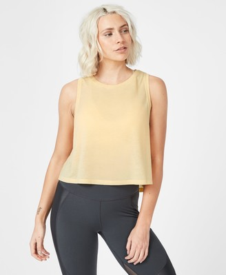 Sweaty Betty Slogan Crop Workout Tank