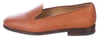 Stubbs & Wootton Pebbled Leather Loafers
