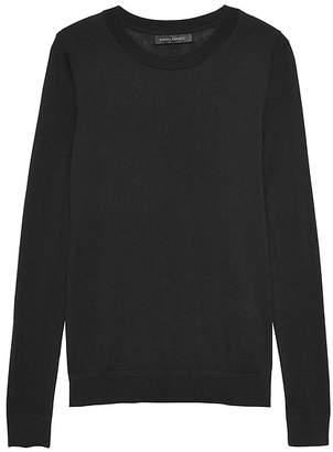 Banana Republic Silk Cashmere Crew-Neck Sweater