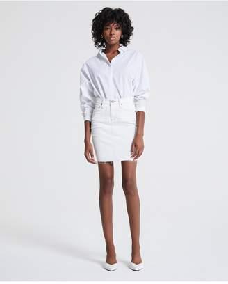 AG Jeans The Erin Skirt - 1 Year Neutral White