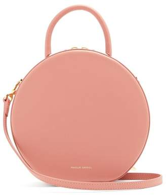 Mansur Gavriel Circle Leather Cross Body Bag - Womens - Light Pink