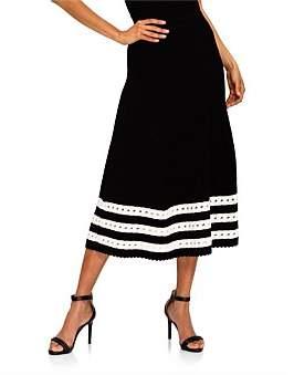Alexander McQueen Vlm Long Skirt