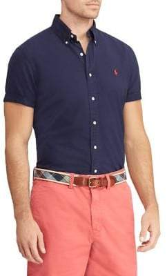 Polo Ralph Lauren Big Tall Classic-Fit Oxford Button-Down Shirt