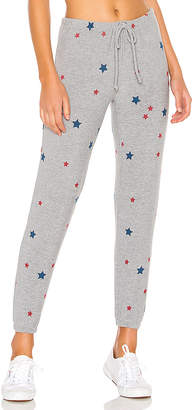 Chaser Cozy Knit Stars Pants