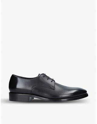 Balenciaga City evening leather Derby shoes