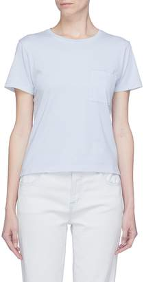 Theory 'Petya' chest pocket Pima cotton T-shirt