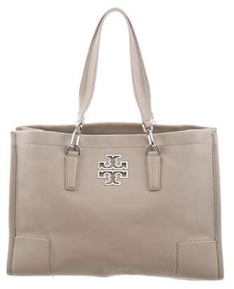 Tory Burch Grained Leather Tote Bag