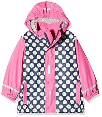Playshoes Girl's Rain Jacket Raincoat Daisy