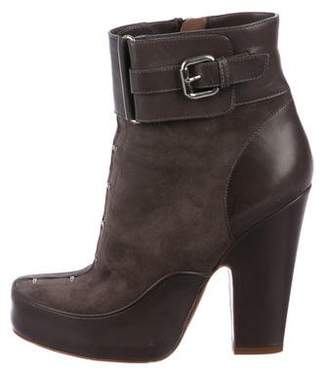 Tabitha Simmons Leather Ankle Boots