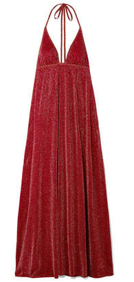 Missoni Lurex Maxi Dress - Claret