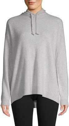 Saks Fifth Avenue Cashmere Dropped Shoulder Cashmere Hoodie