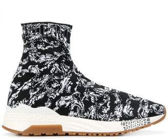 Versace Baroque sock sneakers