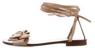 Michael Kors Bow Wrap-Around Sandals