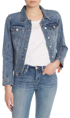 Blank NYC BLANKNYC Denim Exposed Zipper Denim Jacket