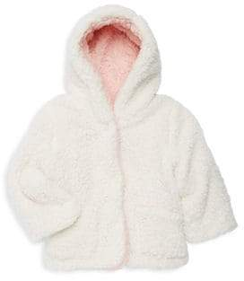 C&C California Little Girl's Faux Fur Hoodie