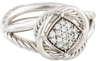 David Yurman Diamond Infinity Ring