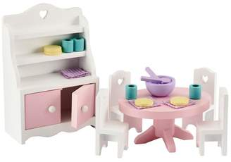 Early Learning Centre ELC Rosebud House Dining Room Furniture Set